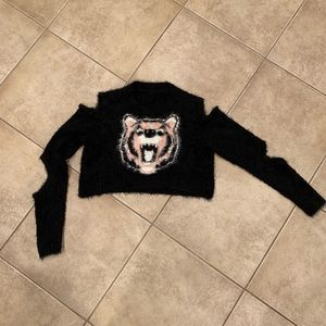 Forever 21 Tiger sweater 🌸size Medium